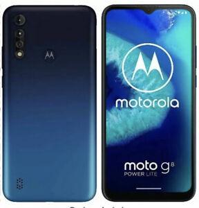 MOTOROLA Moto G8 Power Lite 64GB 4K Camera Unlocked Android Excellent Condition