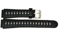 18mm Black Gray Heavy Rubber Sport Diver Watch Band Strap Fits Seiko