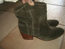 f644dbcfd0b VINCE CAMUTO SUEDE LEATHER ANKLE BOOTS - SIZE 10M - Excellent Condition