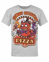 Five Nights At Freddy's Grey Kids T-Shirt 5-6 Jahre