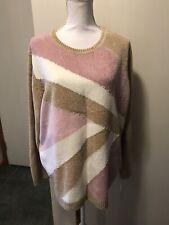 Alfred Dunner 2x Beaded Sweater Crewneck