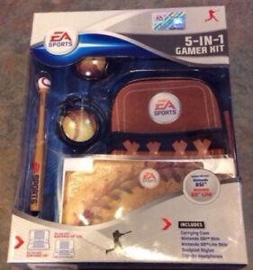 EA Sports 5-In-1 Gamer Kit for Nintendo DSi or DS Lite - Baseball Theme