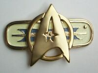 Star Trek Movie 2-6 Large Metal Communicator Pin - New