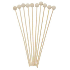 10pcs Wooden Balls Reed Fragrance Diffuser Replacement Sticks 19.5x0.3cm Home