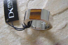 Dyrberg/Kern DK man Ring DAMON TIGER EYE STERLINGSILBER