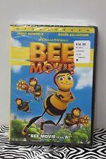 BEE MOVIE DVD Animated Comedy Jerry Seinfeld Renee Zellweger Cartoon WS 2008 NEW