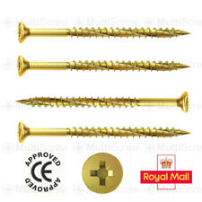 PACK OF 500 LUBED COUNTERSUNK * 6 x 130mm PROFESSIONAL WOOD SCREWS TORX HEAD