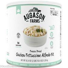 Augason Farm Chicken Fettuccine Alfredo Freeze Dried Emergency Survival Camping