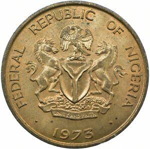 COIN / NIGERIA / 1 KOBO 1973  UNC    #WT23393