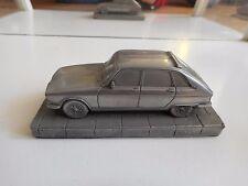 Metal Model of Renault 16 in Grey on 1:43