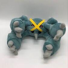 "Pokemon Sun/Moon Mega Metagross #376 Soft Toy Doll Stuffed Animal Teddy 15"" NWT"