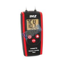New Pyle PWMMT26 Digital Moisture/Humidity Meter (for Wood, Cement, Mortar)