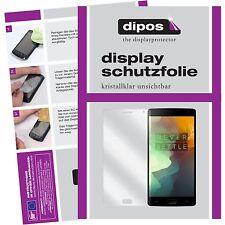 6x OnePlus 2 Lámina protector de pantalla claro Dipos