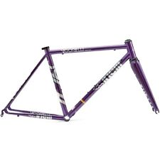 CINELLI VIGORELLI STEEL ROAD - PURPLE/ SIZE : S