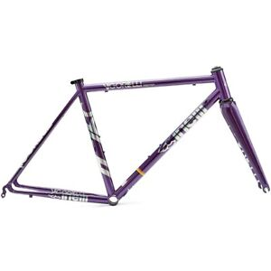 CINELLI VIGORELLI STEEL ROAD - PURPLE/ SIZE : L
