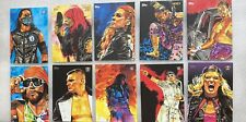 2020 Topps WWE Undisputed ROB SCHAMBERGER ILLUSTRATIONS Complete Set 10 Cards