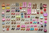 Barbie Fashion Fever Heels, Shoes & Handbags Accessories Bundle