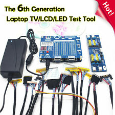 "Laptop PC LCD LED TV Repair Tool 55 Programs For 7-84"" LVDS Screen Panel Tester"