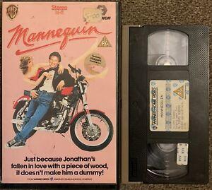 MANNEQUIN :ANDREW McCARTHY-VHS VIDEO BIG BOX EX/RENTAL.