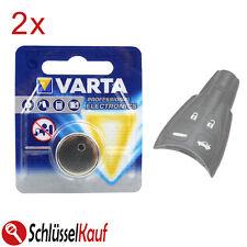2x VARTA Autoschlüssel Knopfzellen Batterie für Saab 93 95 9-3 9-5 93X 94X 95X