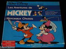 *** FILM SUPER 8 NB SON/120 METRES - MICKEY- MOECEAUX CHOISIS ***