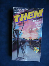 Them-Vhs Tape 11191 B&W-James Whitmore-Science Fiction