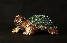 """St Petersburg Russian Faberge Collection: Tortoise Trinket Box 2.4"""""""
