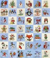 Mouseloft Stitchlets Christmas Cross Stitch Kits + Card/Envelope - Choose Design