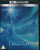 EBOND Frozen 4K ULTRA HD +  BLU-RAY Steelbook  UK EDITION D332015