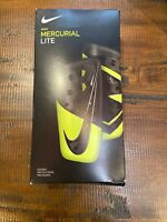 Nike Adult Mercurial Lite Soccer Shin Guards Large Green/Black