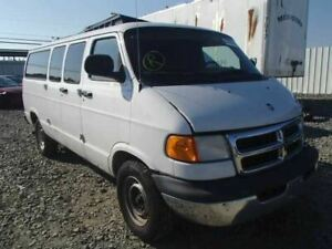 Rear Back Door Double Right-hinged With Window Fits 97-03 DODGE 1500 VAN 329544