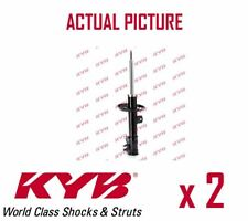 2 x NEW KYB FRONT AXLE SHOCK ABSORBERS PAIR STRUTS SHOCKERS OE QUALITY 339716