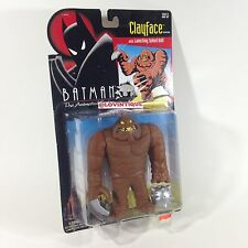 1993 Kenner Batman Animated Series Clayface Action Figure Villain Figurine New