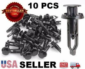 10 Plastic Rivet Fastener Clip Retainer Screw For Toyota Scion Bumper Grill !USA