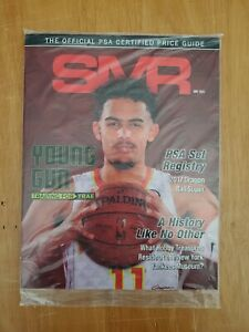 NEW Gem Mint SMR PSA Price Guide July 2021 TRAE YOUNG First Cover Issue 🔥
