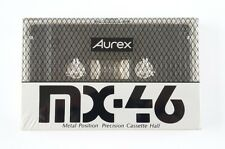AUREX MX 46 Type IV Metal CASSETTE TAPE SEALED JAPAN