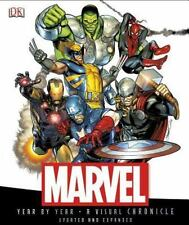 Marvel Year by Year by Dorling Kindersley Publishing Staff and Peter Sanderson (2013, Hardcover, Revised edition)