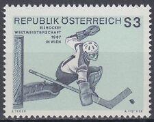 Österreich Austria 1967 ** Mi.1235 Eishockey Sport Ice hockey Sports
