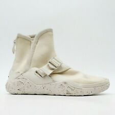 New Teva Womens US 7 EU 38 Cream Ivory Back Zip Strap Mid Sock Boots