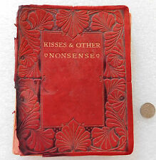 Kisses and Other Nonsense book of love 1912 Branfill Springboks rugby tour