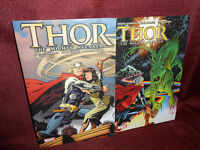 Thor Paperback LOT The Mighty Avenger 1 & 2 Marvel Softcover