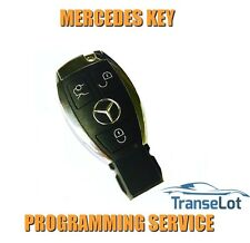 MERCEDES CLK CLASS W208 C208 MERCEDES CLK CLASS 1997-2009 CHROME KEY PROGRAMMING