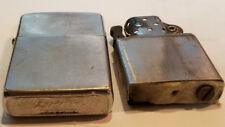 Zippo cigarette lighter 1964 Brushed Chrome  Vietnam War Era