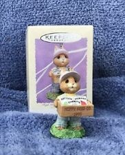 1995 Hallmark Spring Easter Tender Touches Ornament High Hopes Mint In Box