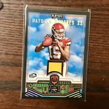 2017 Playoff Patrick Mahomes RC 1ST DOWN /25 Air Command Rookie Jersey Relic