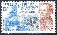 Wallis & Futuna 1979 Sailing Ship/Transport/Capt. Cook/Explorers 1v (n33165)