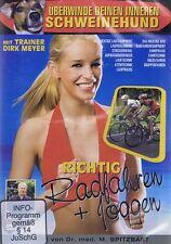 DVD NEU/OVP - Richtig Radfahren + Joggen - Mit Trainer Dirk Meyer
