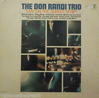 DON RANDI - Live On The Sunset Strip ~ VINYL LP US PRESS PROMO