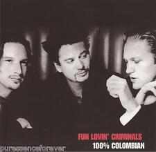 FUN LOVIN' CRIMINALS - 100% Colombian (UK 13 Tk CD Album)