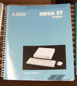 MEGA ST OWNERS MANUAL NEW Atari ORIGINAL